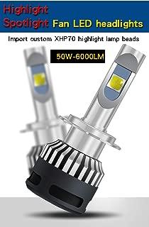 2x Car LED Headlight Kit CREE XHP70 100W 12000LM Bulbs H7 H4 H8 H9 H11 9005 9006 9012 H13 9004 9007 D