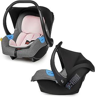 skiddoü Lichte autostoel voor kinderen, 3-punts veiligheidsgordels, adapter 2-in-1 en 3-in-1, eenvoudige montage, Air+ ne...