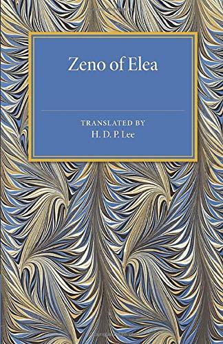 Zeno of Elea (Cambridge Classical Studies)
