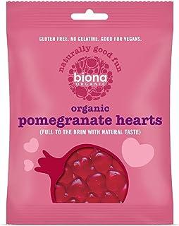 Biona Organic Pomegranate Hearts , 75g