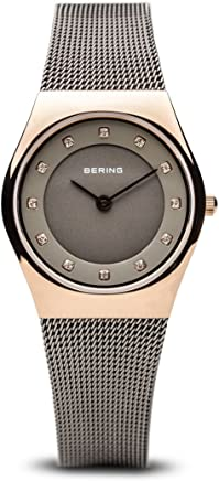 BERING Time 11927-369 Womens Classic Collection Watch with Mesh Band and Scratch Resistant Sapphire