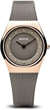 BERING Time 11927-369 Womens Classic Collection Watch with Mesh Band and Scratch Resistant Sapphire Crystal. Designed in Denmark.