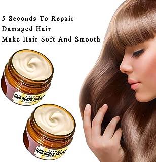 Shan-S Deep Treatment Mask,Detoxifying Hair Mask Advanced Molecular Hair Roots Recover Elasticity Hair,Hair Rejuvenating Mask for Woman Men All Hair Types,with Argan Oil,Jojoba Oil,Shea Butter (2Pcs)
