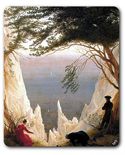 1art1 Caspar David Friedrich - Die Kreidefelsen Auf Rügen, 1818 Mauspad 23 x 19 cm
