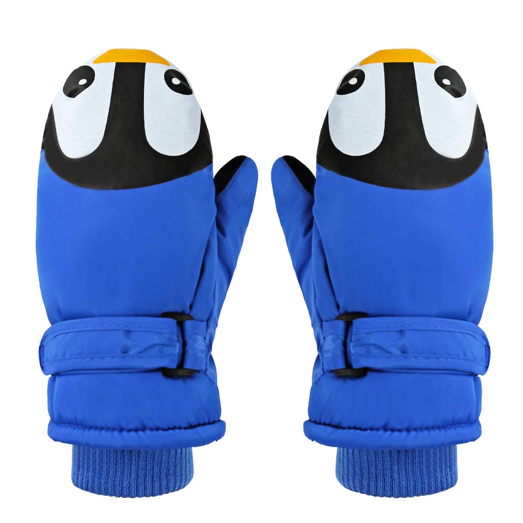 Boys Girls Winter Warm Waterproof Windproof Gloves for Skiing Gogokids Kids Ski Mittens Green S Cycling Snowboard