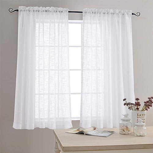 White Bedroom Curtain: Amazon.com