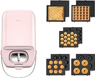 aasdf Grille-Pain à Sandwich Machine à Sandwich pour Gril intérieur électrique Panini Press, grilles polyvalentes de 800 W...