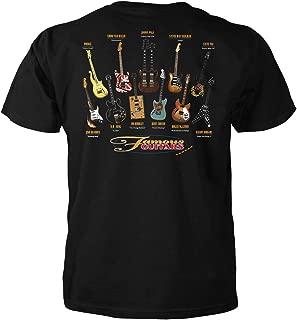 Best famous guitars shirt Reviews
