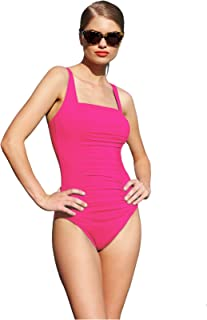 Best calvin klein ruched panel one piece swimsuit Reviews