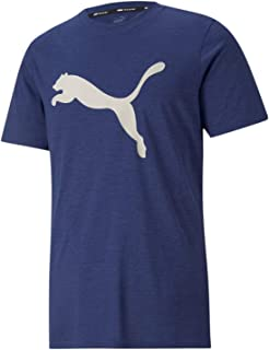 PUMA Men's TRAIN FAV HEATHER CAT SS T-Shirt