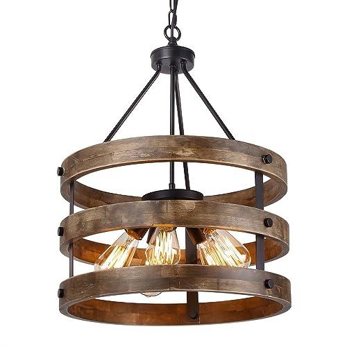 Industrial Rustic Lighting Amazon Com