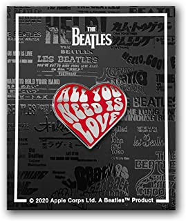 WaxOffDesign The Beatles All You Need is Love Enamel Pin