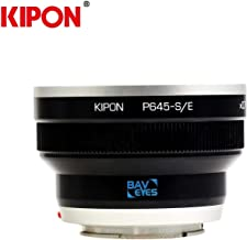Kipon Adapter Focal Reducer Speedbooster for Pentax 645 Lens to Sony E Mount NEX