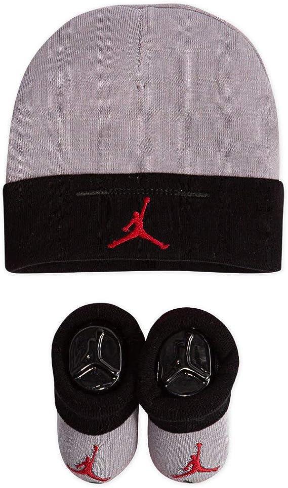 demoler prefacio testimonio  Nike Sombrero y botines para bebé (2 piezas), Negro (LJ0102-K41)/Rojo, 0-6  meses: Amazon.com.mx: Ropa, Zapatos y Accesorios