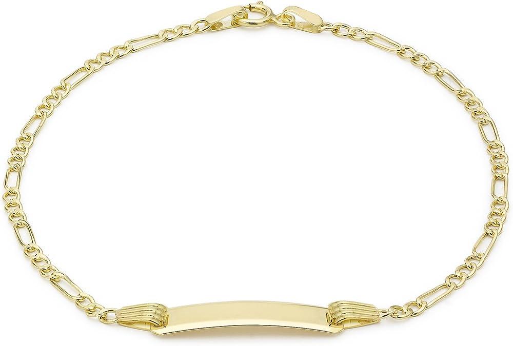 Carissima gold bracciale da bambini, in oro giallo 9k (375)(1,2gr) 1.29.0521