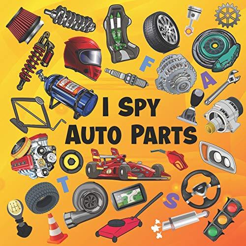 I Spy Auto Parts: ABC Picture Pu...