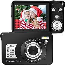 $45 » 30 Mega Pixels Digital Camera 2.7 Inch HD Camera Rechargeable Mini Camera Students Camera Pocket Digital Camera with 8X Zo...