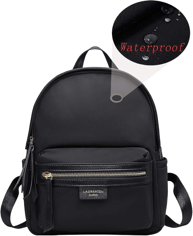 LAORENTOU WOMEN Waterproof lightweight School Nylon Backpack Computer Daypack Durable