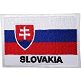 Aufnäher, Motiv: Slowakische Flagge