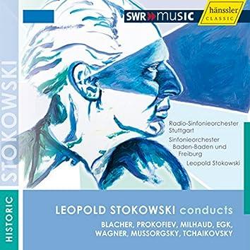 Orchestral Music - Blacher, B. / Prokofiev, S. / Egk, W. / Wagner, R. / Mussorgsky, M.P. / Tchaikovsky, P.I. (1955)