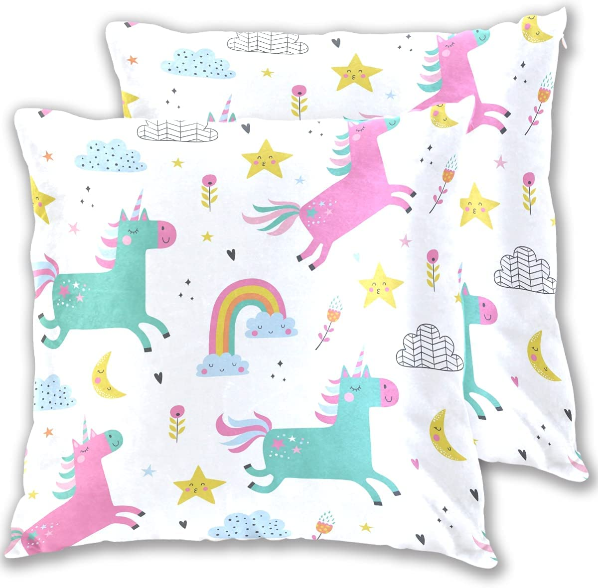 Dzkopi Childish Unicorns Space Fly Kid Special Campaign 2-Piece Pillowcase Ranking TOP18 Covers