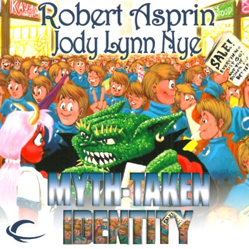Myth-Taken Identity audiobook cover art