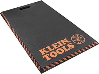 Klein Tools 60136 Kneeling Pads, Adult Mens Large Soft Thick Closed Cell Soft Foam Professional...
