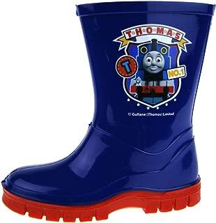 Thomas The Tank Engine Boys Thomas No1 Slip On Wellington Boots UK Sizes Child 5-10