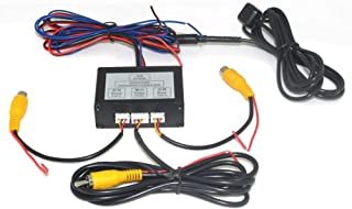 Auto Wayfeng WF Car 2 Cameras Switch Control Box 2 Way Channel for Front/Rear/Right/Left View Parking Camera System Video Control to LCD/DVD/DVR.