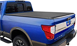 Tyger Auto T1 Roll Up Truck Tonneau Cover TG-BC1N9048 Works with 2017-2019 Nissan Titan | Fleetside 5.5' Bed | for Models ...
