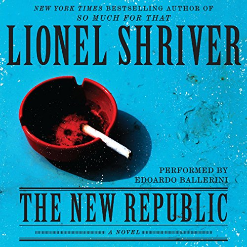 The New Republic audiobook cover art