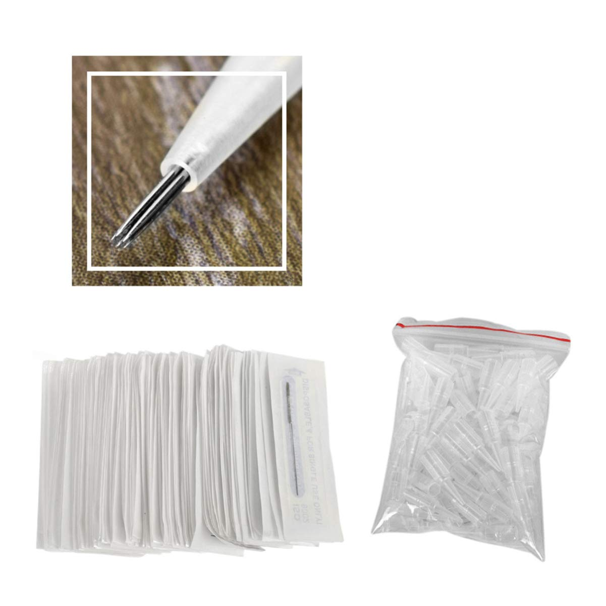 Healifty Disposable Sterilised Directly managed store Tattoo safety 5RL Tips Needles R