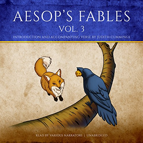 Aesop's Fables, Vol. 3 audiobook cover art
