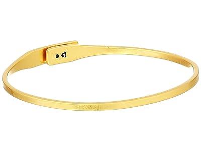 Madewell Delicate Glider Bangle Bracelet (Vintage Gold) Bracelet