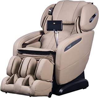 Osaki Pro Maxim D Massage Chair, Ivory, SL Track Roller Design, Computer Body Scan Technology, 2 Stage Zero GravityPosition, Touch ScreenController, BluetoothConnection for Speaker