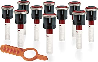 Sprinkler 10 Pack Hunter MP Rotator MP1000 90-210 8'-15 Nozzles with Free Tool!