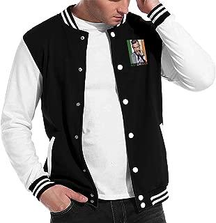Unisex Women Mans Conor McGregor Notorious Ireland Baseball Uniform Jacket Sport Coat Plus Velvet Black Gift