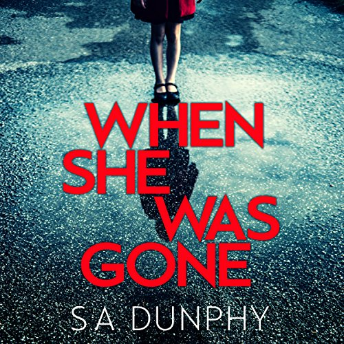 When She Was Gone audiobook cover art