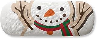 mas Snowman Cartoon Festival Gl Case Eyegl Hard Shell Storage Spectacle Box