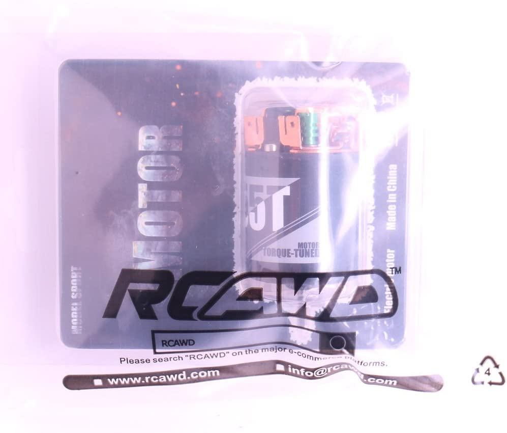RCAWD Motor 19T 540 Brushed Carbon Brush Replaceable for Rc Hobby Model Car Boat 1//10 Crawler Axial Hsp Traxxas Redcat ECX 19T Shipped Locally