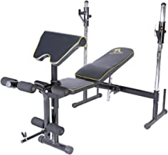 TA Sports Weight Bench without Plates and Bar, BH-2050