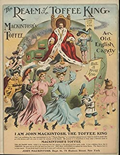 Realm of the King Mackintosh's Toffee Old English Candy ad 1904 girl parade