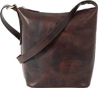 HOLZRICHTER Berlin Shopper No 2-1 (M) - Damen Vintage Hobo Handtasche & Schultertasche handgefertigt aus Premium-Leder