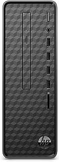 HP Slim S01-pF1400ng Desktop PC (Intel Core i5-10400, 8GB DDR4 RAM, 1TB HDD, 512GB SSD, Intel Graphics, Windows 10) zwart
