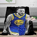 Basketball Pop Art Fleece Blanket Throw Size...