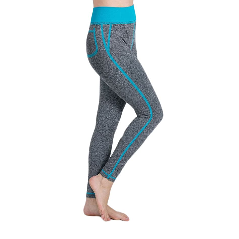 ?HebeTop? Yoga Pants High Waist Leggings Tummy Control Workout Pants for Women