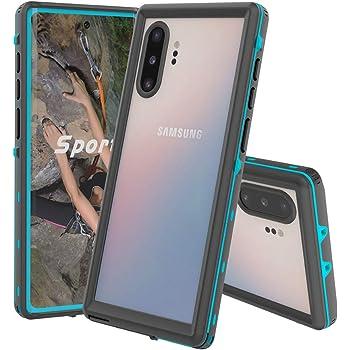 Funda impermeable para Samsung Galaxy Note 10, Galaxy Note 10, protector de visualización de 360 °, a prueba de golpes, a prueba de suciedad, IP68 subacuática, resistente al agua para Galaxy Note 10, Azul, Samsung Galaxy Note 10 Plus