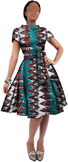 African Dresses for Women African Wax Print Dresses African Clothes