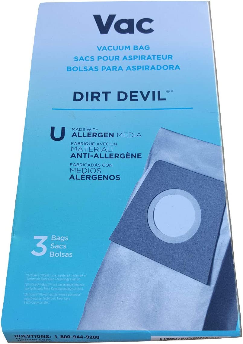 Dirt Devil Bags Type Sales results No. 1 Cheap mail order specialty store U with Vacuum Upright Media Cl Allergen for
