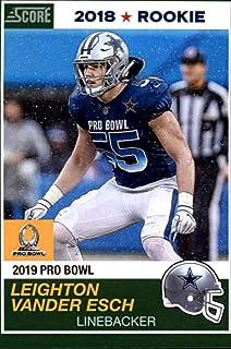 2018 Panini Instant NFL Pro Bowl 1989 Score Design Football  28 Leighton  Vander Esch RC b5696bd90